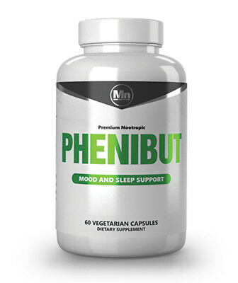 Phenibut XT GABA 60 capsules 500mg. !!! Payment: only by bank transfer !!!