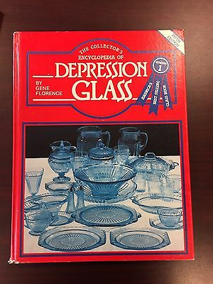 Depression Glass Encyclopedia By Gene Florence Hardcover Book 1982