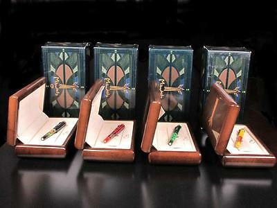 Omas Mandela 80 Complete 4 Fountain Pens Limited Edition Set New