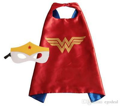 Wonder Woman Cape and Mask Set for Kids NEW Australian Stock