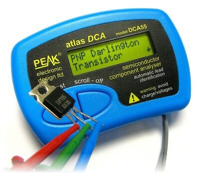 Peak Atlas DCA55 Atlas Semiconductor Component Analyser NEW BOXED