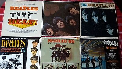Lot Of The Beatles 6 Lp