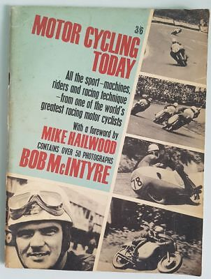 Motor Cycling Today Bob McIntyre Panther Pictorial Book Mike Hailwood Fwd 1964