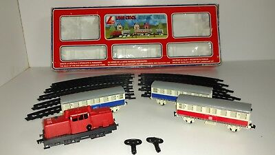 Lima Crick Vintage Mechanical Train Set 131000 Italy