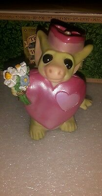 Pocket Dragon - **Mint** - Hearts and Flowers - 2001