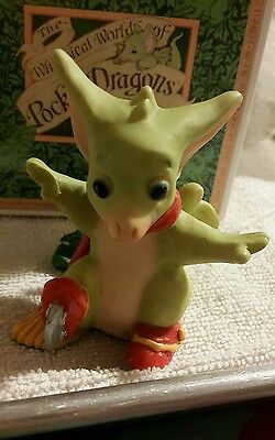 Pocket Dragon - **MIB** - Christmas Skates w/ Ornament - 1996