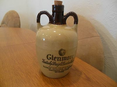 Glenmore Kentucky Straight Bourbon Whisky Jug Decanter  Empty