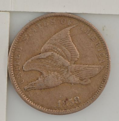 1858 Flying Eagle One Cent *433
