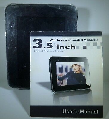 New & Never Used!    -   Portable 3.5 inch DIGITAL PICTURE FRAME