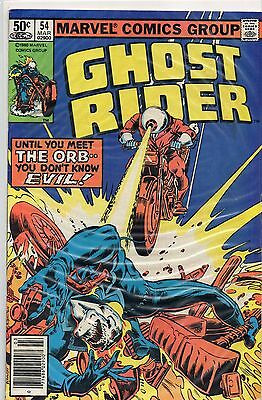GHOST RIDER # 54 The ORB 1980