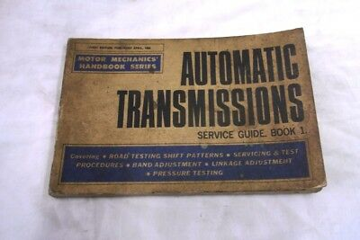 Automatic Transmissions Service Guide Book .1. 1968