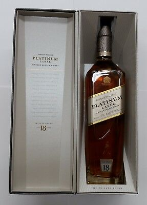 Johnnie Walker Platinum Label Blended Scotch Whisky Aged 18 Years 700ml