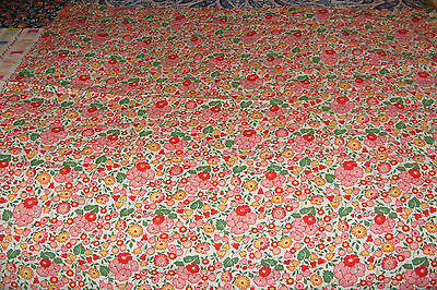 Vintage Feedsack Lot in a Quilt Top
