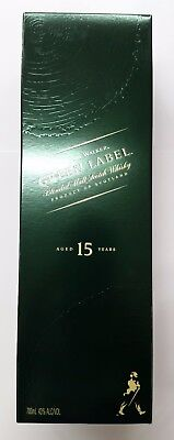 Johnnie Walker Blended Scotch Whisky Green Label Aged 15 Years 700ml