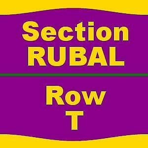 2 TICKETS 10/22/17 The Color Purple Hippodrome Theatre At The France-Merrick PAC