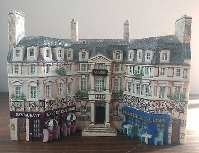 Rare - Miniature J Carlton Dominique Gault Paris Millennium Town Hall Building