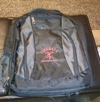 fireball whiskey brand backpack