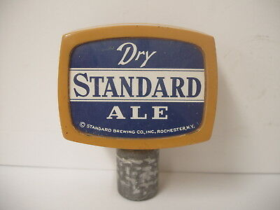 Vintage Dry Standard Ale Standard Brewery Tap Knob Rochester NY