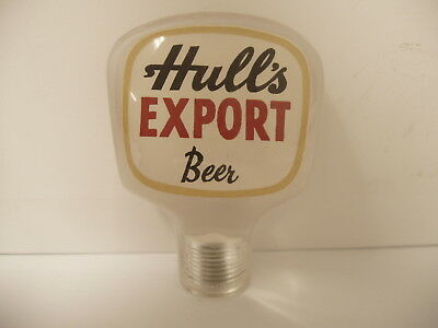 Vintage Hulls Export Beer Hull Brewing Co Tap Knob New Haven Connecticut