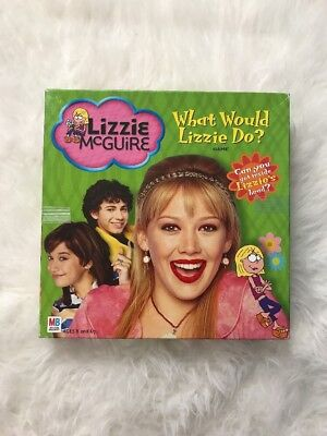 Disney Lizzie Mcguire What Would Lizzie Do? Board Game Hilary Duff 2003