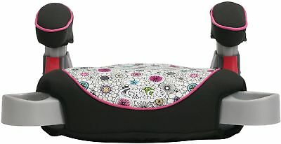 Graco Backless TurboBooster Car Seat Claire child comfortably and happily