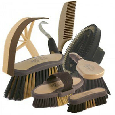 Equestria Sport Competition Grooming Set Black and Gold NEW!
