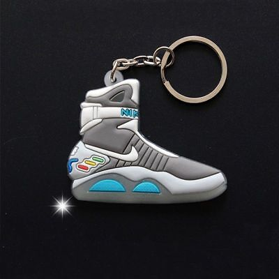 Back To The Future II style Key Chain Glow in the dark NEW