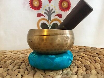 Small And Cute Sings Like A Flute, Singing Bowl, Crafted In Nepal, Hand Beaten