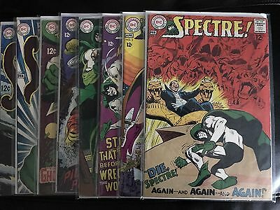 The Spectre Lot of 8 Silver Age DC Comics, #'s 2,3,4,5,6,7,8,10.
