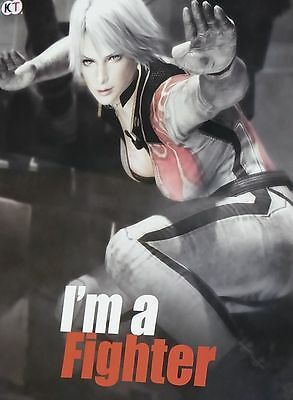 Dead Or Alive 5 Privilege Item I'm a Fighter Poster B2 Big Size Christie