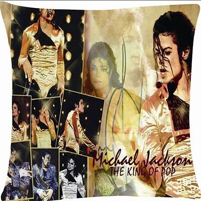 Michael Jackson MJ History Would Tour Throw Pillow Case Cushion Cover Home Decor