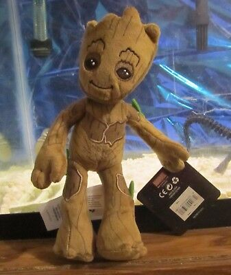 Marvel 2017 PLUSH BABY GROOT Guardians of Galaxy 8 Inch Disney Store Exclusive