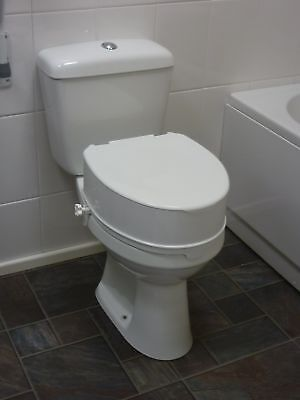 6 Inch Raised Toilet Seat with Lid From the Official Argos Shop on ebay