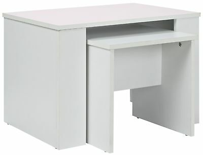 HOME Hamilton Nest of 2 Tables - White. From the Official Argos Shop on V101085