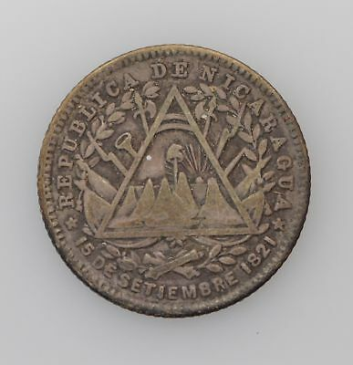 1887-H Nicaragua 10 Cents *3945