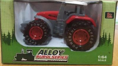 Delicate Model Alloy: Rural series model tractor 1:64 scale 3 colours FREE POST
