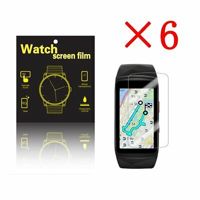 6 X High Definition Ultra Clear Film Screen Protector for Samsung Gear fit 2 pro
