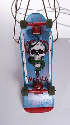 Vintage 1980's Powell Peralta Mike Mcgill Snakeskin Nos Complete