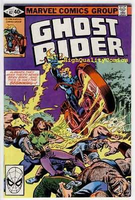 GHOST RIDER #47, VF, Motocycle, Demon , Movie,1973, End of a Champion