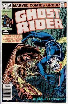 GHOST RIDER #51, VF+, Motocycle vs Semi, Movie, 1973, Diesel of Doom