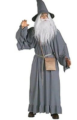 The Lord Of The Rings Gandalf Wizard Fancy Dress Halloween Adult Costume