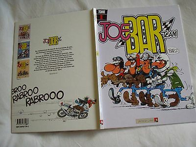BD  bande dessinée tome 1 JOE BAR TEAM bar 2  bon état  vents d'ouest