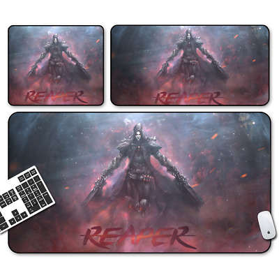 Game Overwatch REAPER Mouse Pad Profession PC Large Mats Muti-size 010