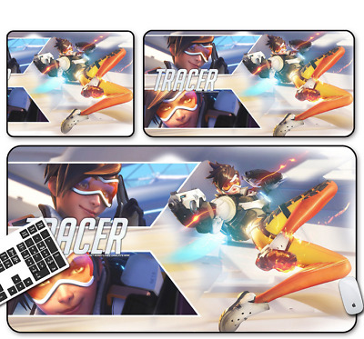 Game Overwatch TRACER Mouse Pad Profession PC Large Mats Muti-size 013