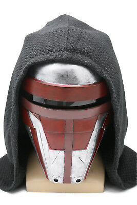 Darth Revan Mask Star Wars The Revanchist Helmet Cosplay Halloween Latex Adult