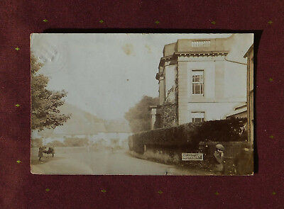 STAVELEY CUMBRIA RP Photo postcard (animated street scene Kendal Cumberland PC