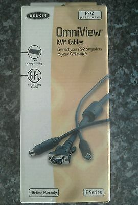 Omniview kVM cables new in box