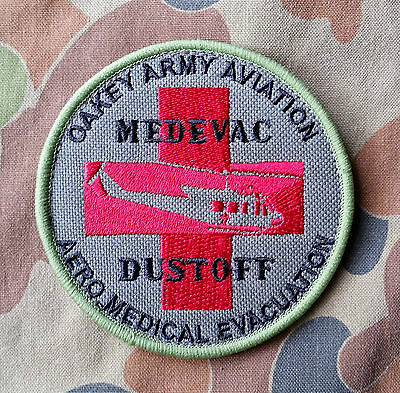 Oakey Army Aviation Medevac 'Dustoff' Patch - Exclusive - last 4 Patches.
