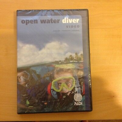 PADI Open Water Diver DVD New in original packaging still sealed