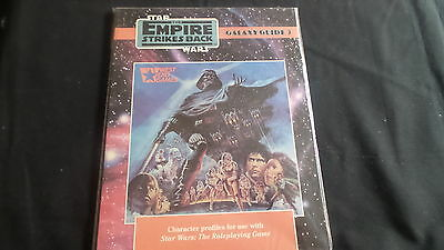 Star Wars Empire Strikes Back Galaxy Guide 3 RPG West End Games adventure